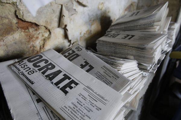 Le Démocrate de l'Aisne est imprimé à 1200 exemplaires chaque semaine