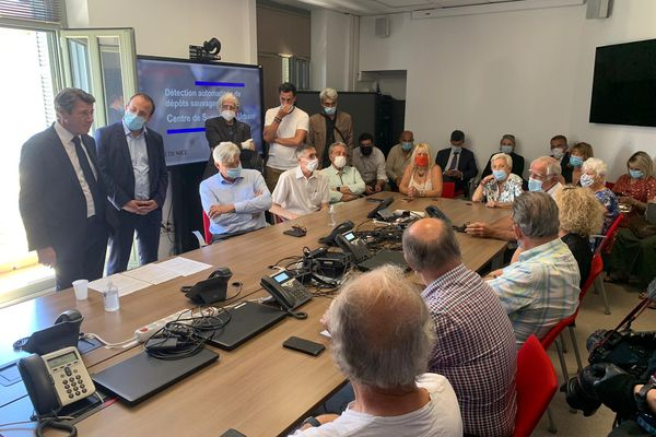 Le dispositif était présenté ce jeudi à Nice par Christian Estrosi, maire de la ville et Anthony Borré, adjoint à la sécurité.