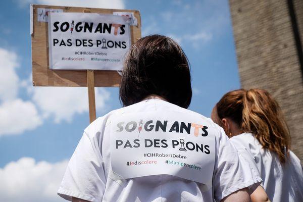 Une dizaine de manifestations du secteur hospitalier est prévue ce mardi 16 juin, en Franche-Comté.