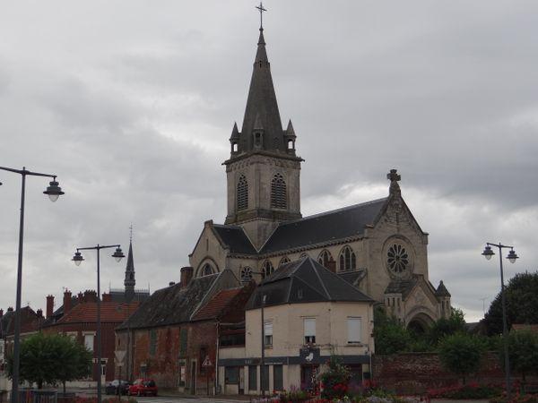 L'ancien presbytère est accolé à l'église Saint-Martin.