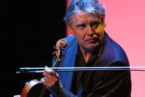Le violoniste Didier Lockwood.