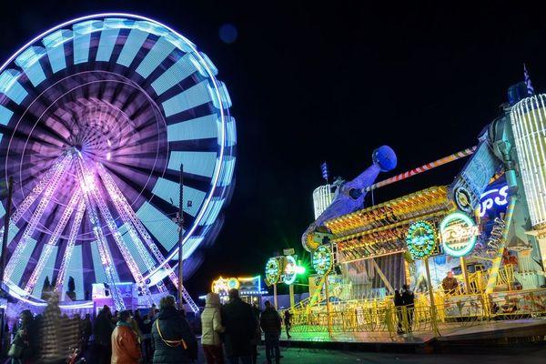 La grande roue en mode nuit
