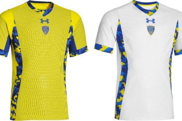 """L'aspect """"camouflage"""" fait son apparition sur les maillots que porteront les joueurs de l'ASM Clermont Auvergne lors de la saison 2015/2016."""