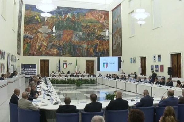 Réunion du CONI, le comité Olympique italien