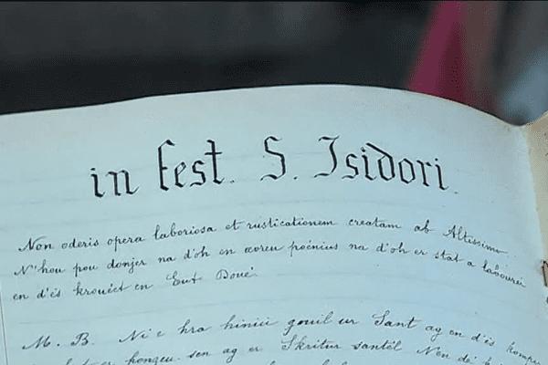Ecrits en bretons, ces textes en disent beaucoup sur notre Histoire locale.