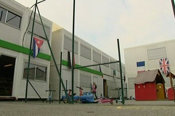 La rentrée se fera dans ces locaux avant un déménagement en janvier dans une école flambant neuve près de Pau.