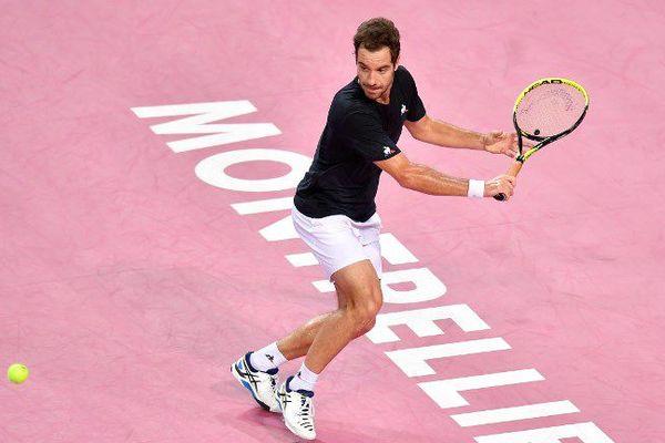 Le Bitterois Richard Gasquet disputera sa sixième demi-finale lors du tournoi Open Sud de France à Montpellier - Février 2018
