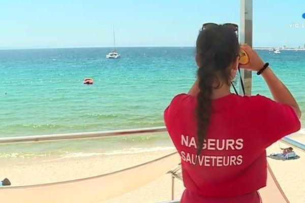 32 nageurs-sauveteurs sont mobilisés sur les plages d'Ajaccio.
