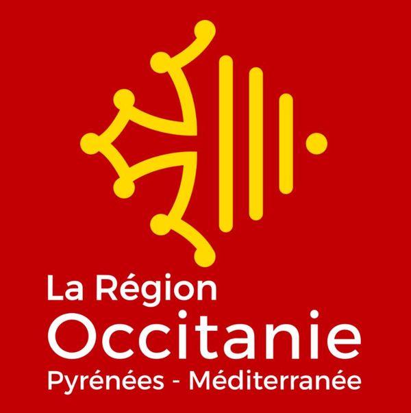 Logo de la Région Occitanie Pyrénées-Méditerranée.