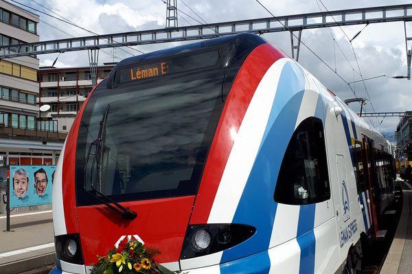 Le Léman Express sera mis en service en décembre 2019.