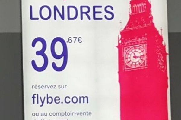 Flybe : le Caen-Londres n'existe plus depuis ce 5 Mars