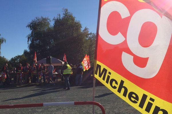 La CGT Michelin de La Roche-sur-Yon, octobre 2018