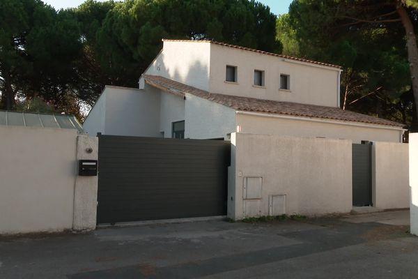 """Hérault - Le """"Grêlé"""" habitait une maison dans le quartier résidentiel des Goélands à La Grande-Motte avec sa femme et ses enfants. 1er octobre 2021."""