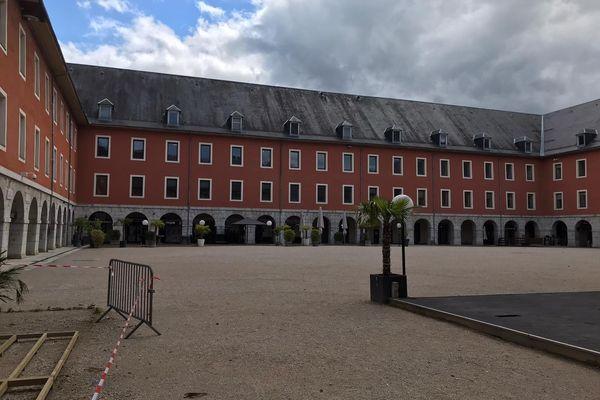 """Le """"carré curial"""", lieu de fête chambérien où Arthur Noyer a passé sa dernière soirée avec un ami."""