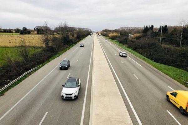 La fameuse RD113, qui relie Marseille à Saint-Martin-de-Crau, accueille près de 80.000 véhicules par jour.