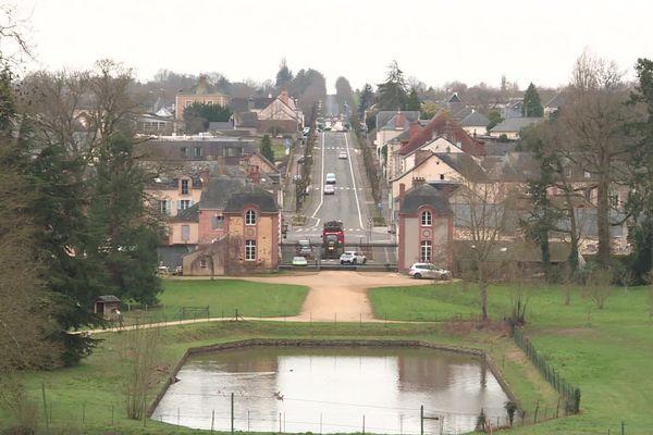 La commune de Craon en Mayenne