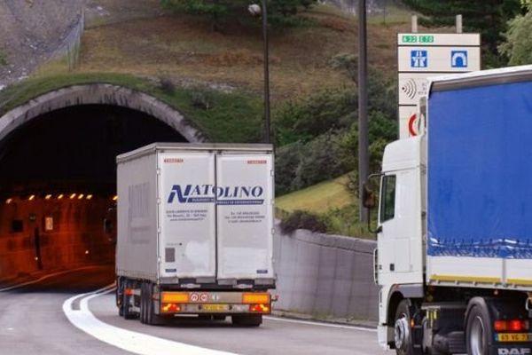 Le tunnel du Fréjus - Illustration