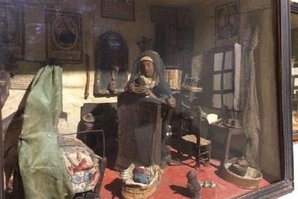 """D'étranges """"cellules de nonnes"""" miniatures à découvrir au musée Cécile Sabourdy"""