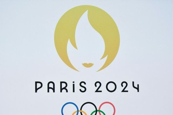 Le logo officiel des Jeux Olympiques de Paris 2024 présenté à Paris, le 21 octobre 2019.