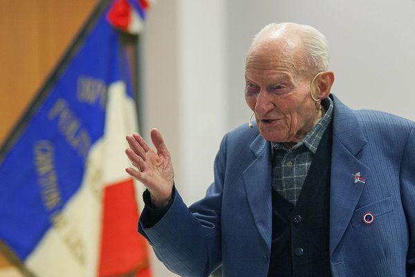 Jean Manchette lors d'une intervention publique le 31 janvier 2020 à Tronville-en-Barrois (Meuse)