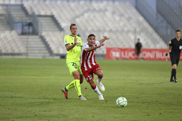 Vendredi 9 août, l'AC Ajaccio s'est inclinée un but à deux face à Caen.
