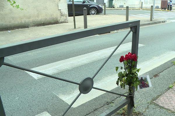 Un motard est décédé après avoir été écrasé contre cette barrière de sécurité à Périgueux