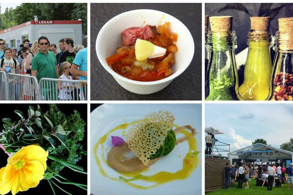 Le coup d'envoi de la 3e édition du festival musico-gastronomique a été donné à Tournus, en Saône-et-Loire vendredi 13 juin 2014.