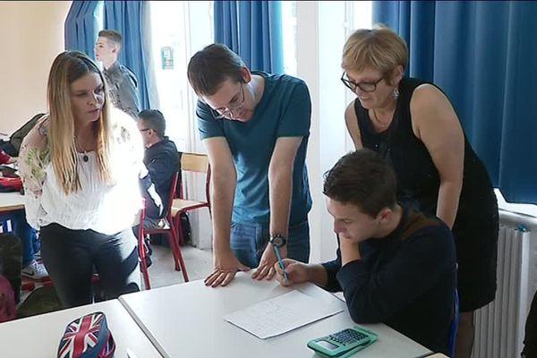 Classe du lycée professionnel Tristan Bernard, à Besançon