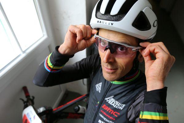 Le cycliste Vosgien Julien Absalon (archive).