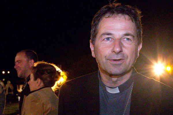 Thierry Brac de la Perrière, évêque de Nevers en juillet 2016.
