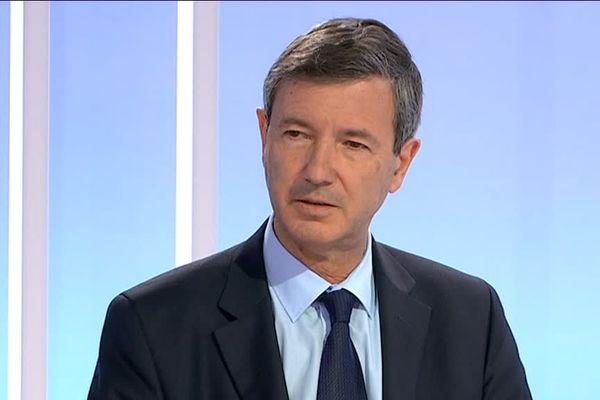 Olivier Dugrip, Recteur de l'Académie de Bordeaux, invité du journal régional de France 3 Aquitaine