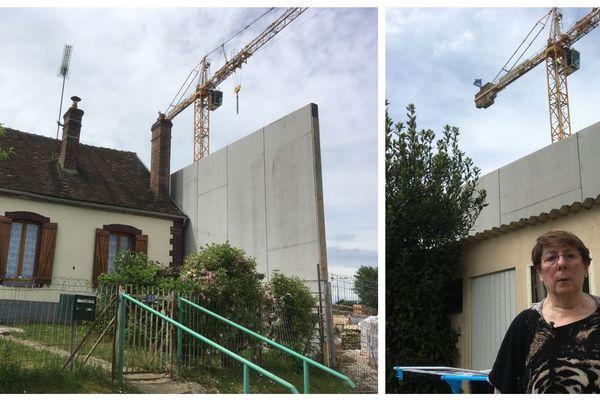 Le projet ambitieux de la mairie de Courtenay vs la maison de madame Bonnin...