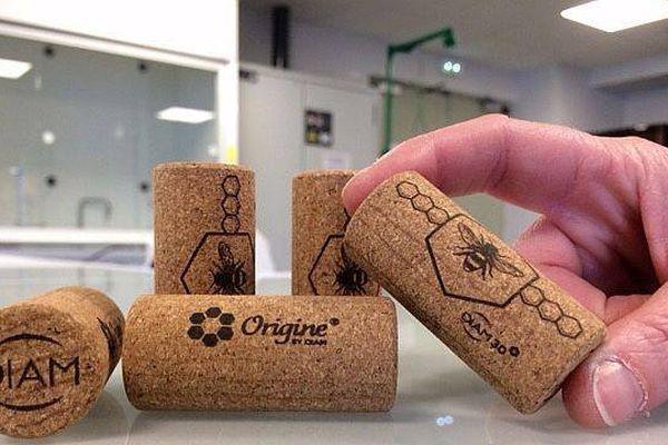 Première mondiale avec ce bouchon totalement naturel. Il a été mis au point et fabriqué dans l'usine Diam Bouchage SAS de Céret, dans les Pyrénées-Orientales. 22 février 2017
