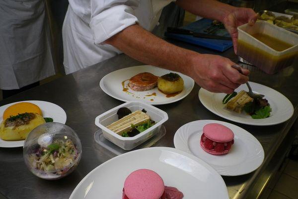 11 détenus ont eu à composer un repas complet à l'occasion de la semaine du goût