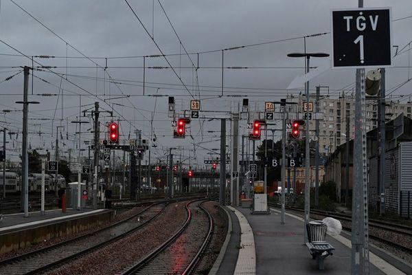 En gare de Rennes