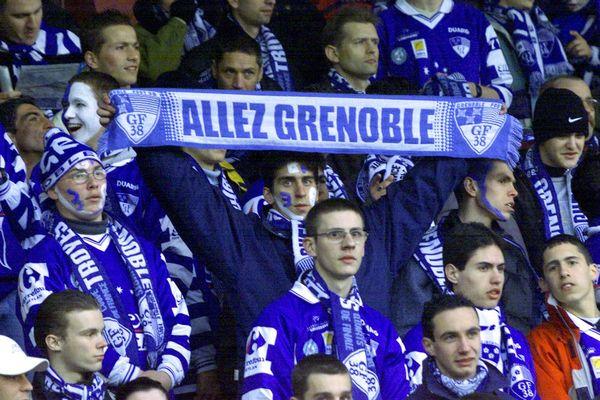 Les supporters du GF 38.