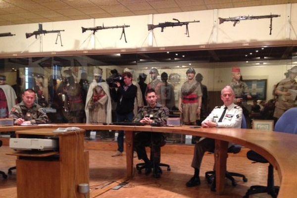 Conférence de presse du 1er régiment de Spahis de Valence  - 16/11/15