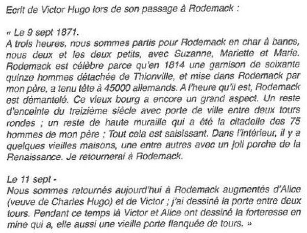 Le texte de Victor Hugo