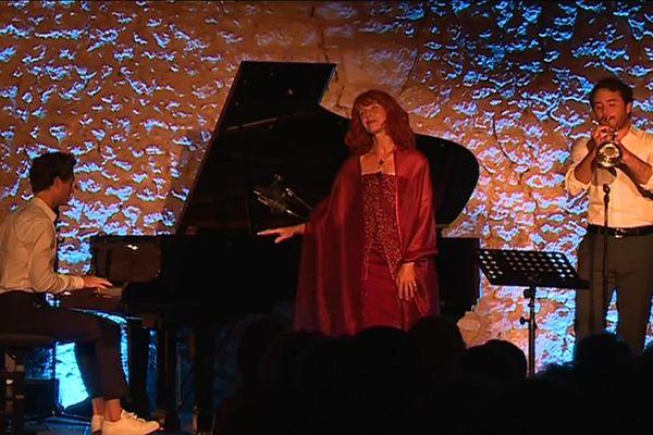 Un concert en août 2019, dans le cadre du Festival du Périgord Noir.