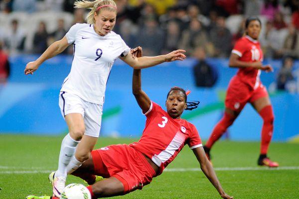 Un seul but canadien aura suffi pour anéantir les chances des Bleues.