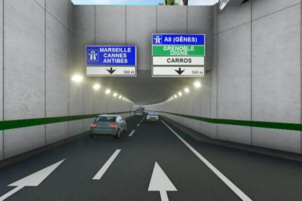 Fin du chantier en 2025, le coût des travaux s'élève à 72 millions d'euros.