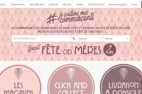 Achetez-grandnancy.fr, la plateforme de e-commerce du Grand Nancy regroupe déjà une cinquantaine de commerces.