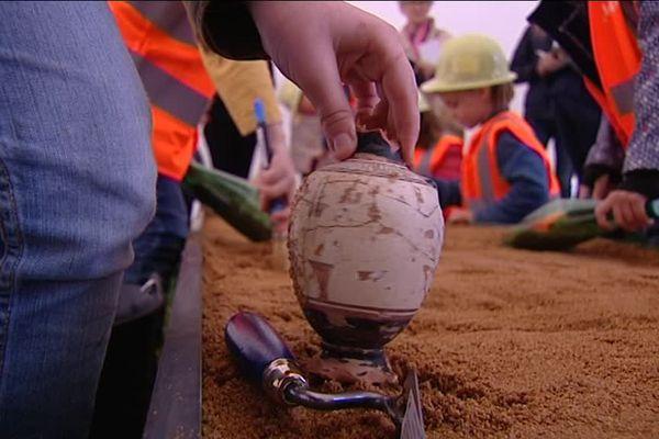 Les enfants auront le temps des vacances scolaires pour tout apprendre de l'archéologie