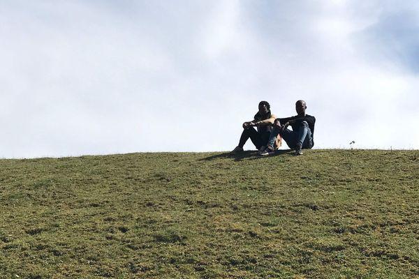 La colline au-dessus-de la dynamitière, lieu d'accueil de l'association Sahel Vert