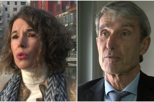 Amandine Germain et Michel Issidou