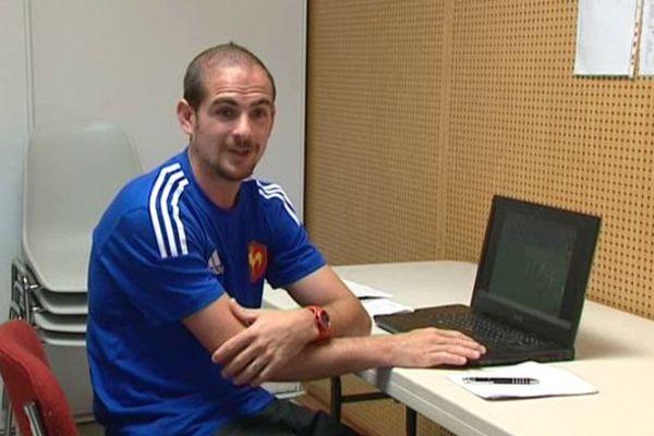 L'Héraultais Alexandre Ruiz, 28 ans, est le plus jeune arbitre du Top 14 - 4 juin 2015