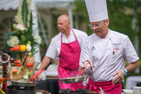 Camille Constantin, chef cuisinier Le Moulin des Quatre Saisons