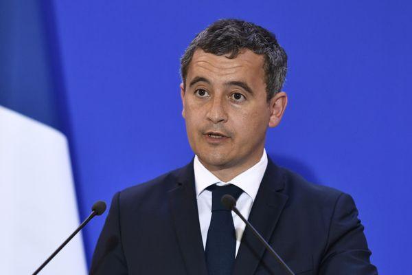 Le ministre de l'Intérieur Gérald Darmanin (ici le 31 août 2020) passera l'après-midi dans l'Oise ce lundi 7 septembre.