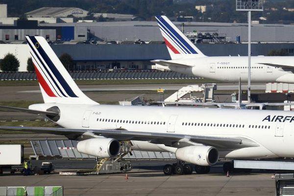 Des avions Air France sur le tarmac de l'aéroport d'Orly, le 18 septembre 2014.
