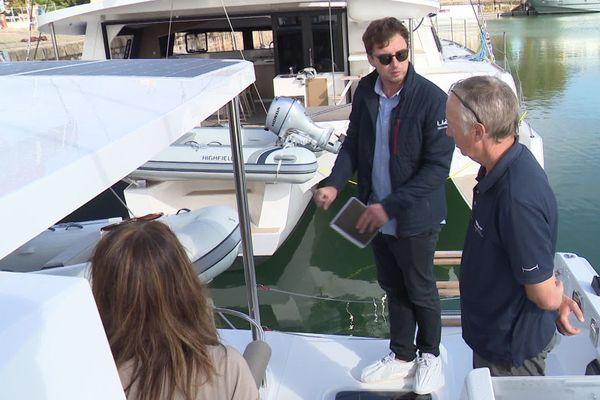 Une visite privée sur le bassin du port des Minimes de La Rochelle.